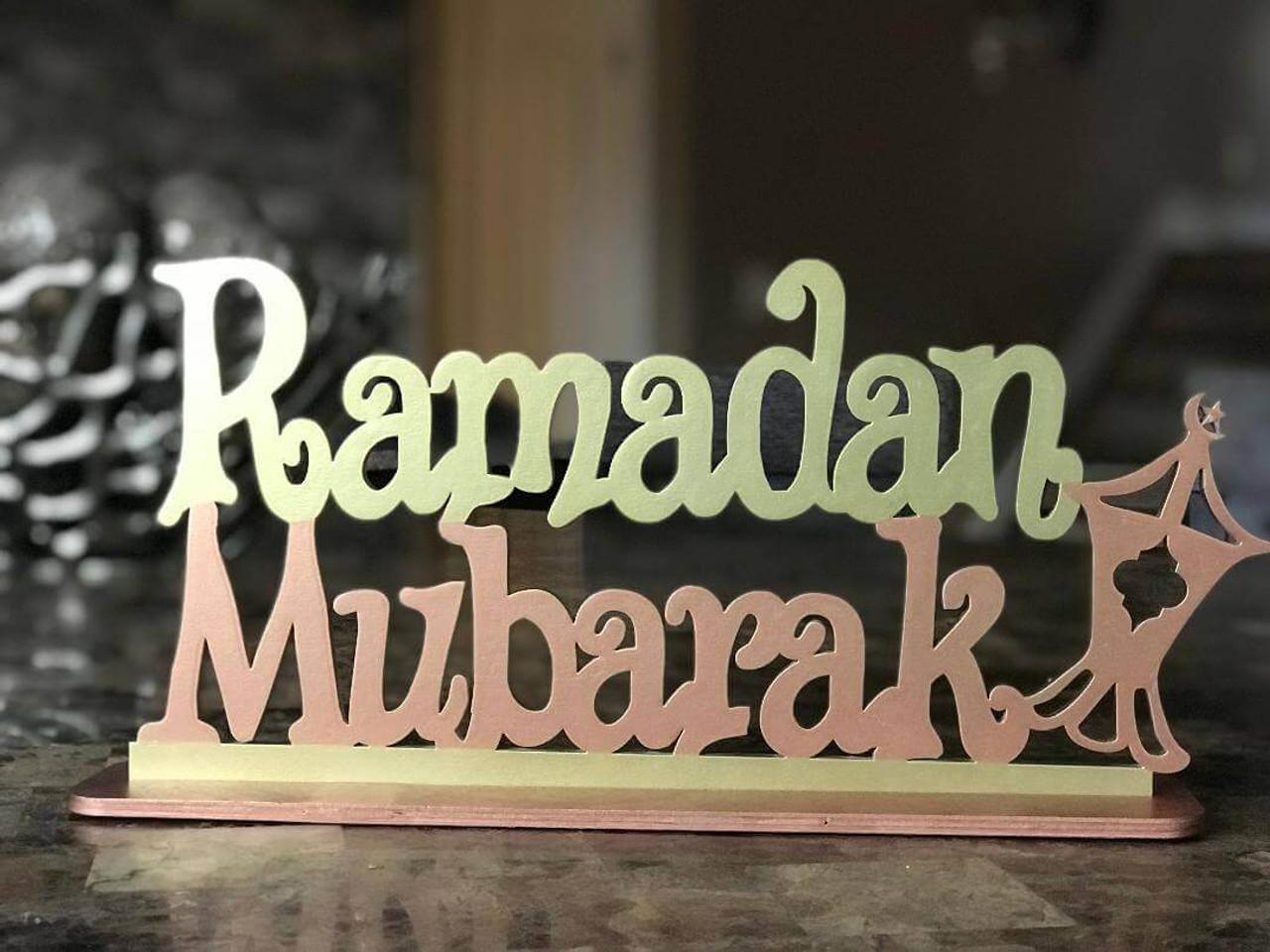 Ramadan Mubarak Stand
