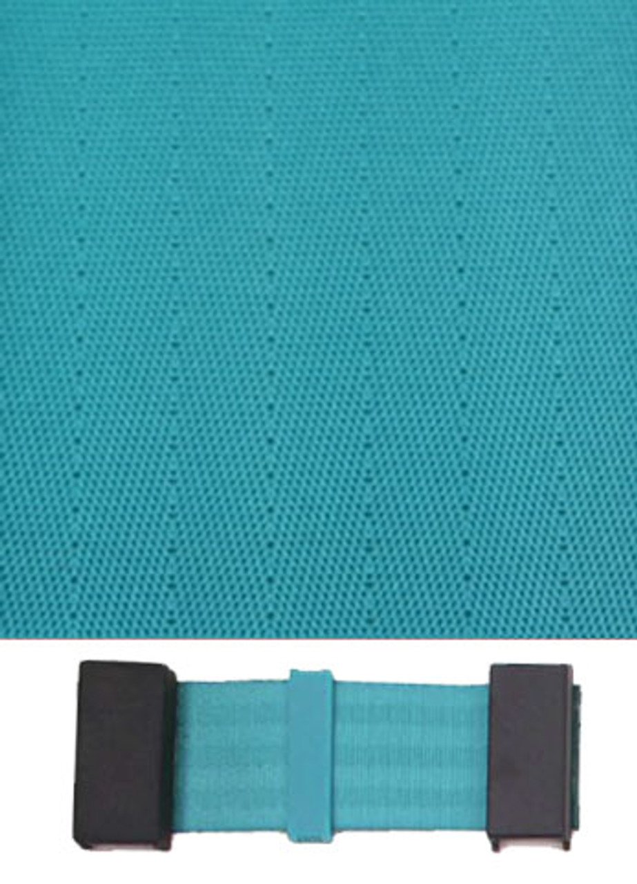 4009 Turquoise with Black Plastic Trim
