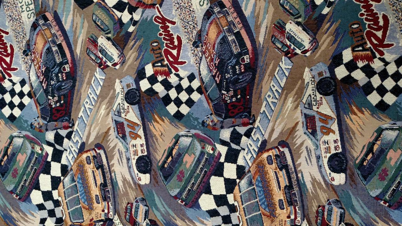 """NASCAR Tapestry 56"""""""