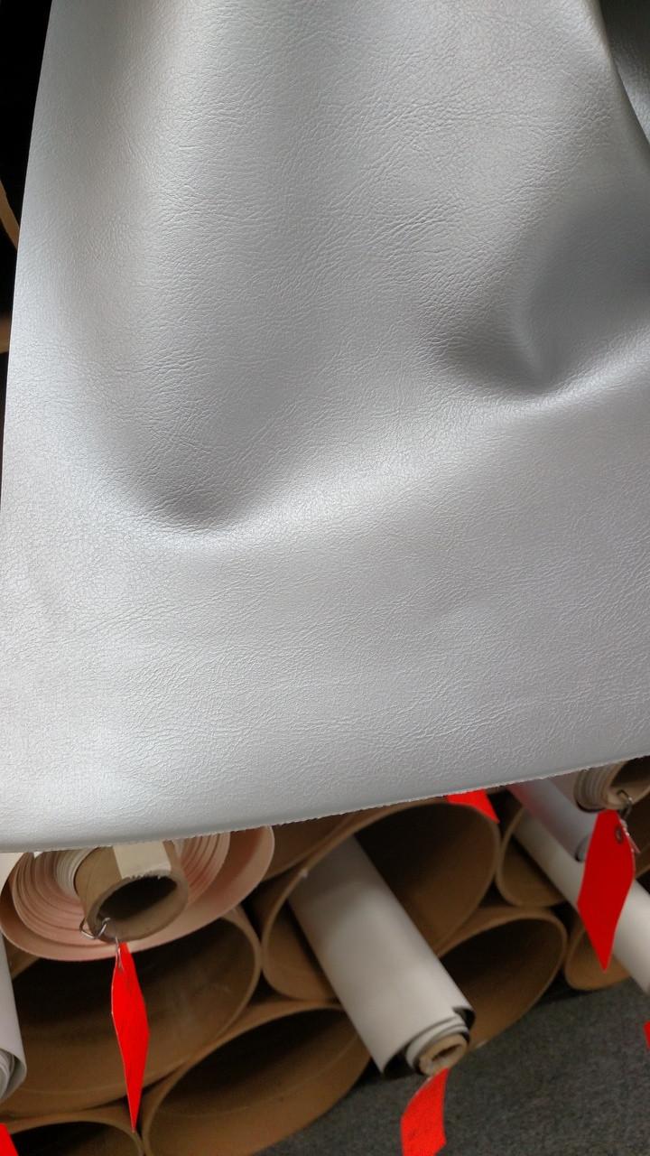 "Madrid SOFT 9828 CLASSIC Metallic Silver Vinyl - 54"""