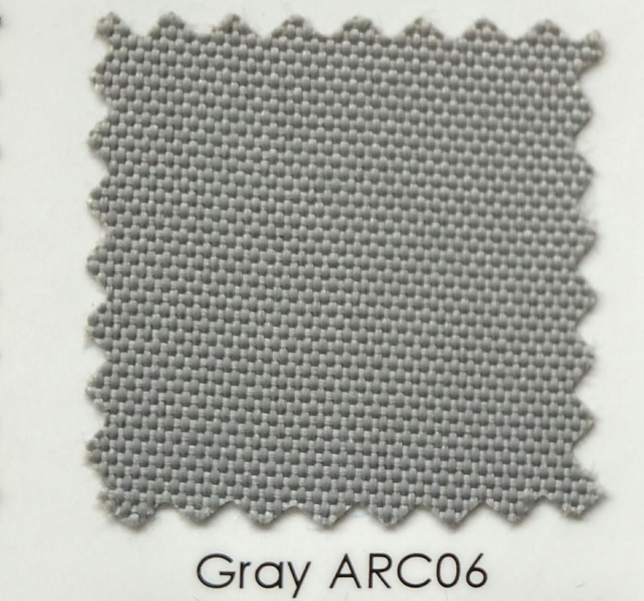 "Arcadia Gray Outdoor Fabric 60"""