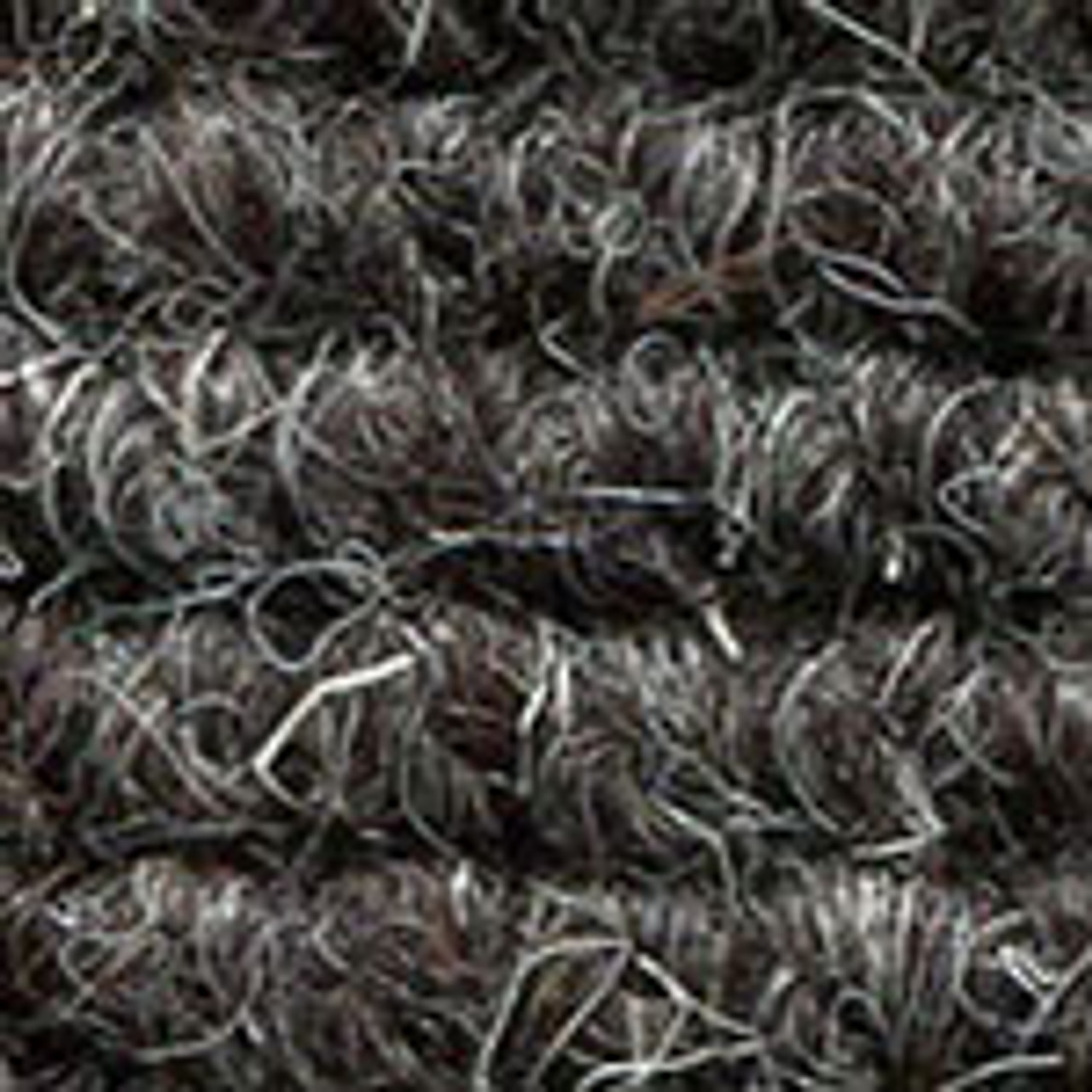 """Imported German Wool Square Weave Carpet 77"""" - 317 Charcoal"""