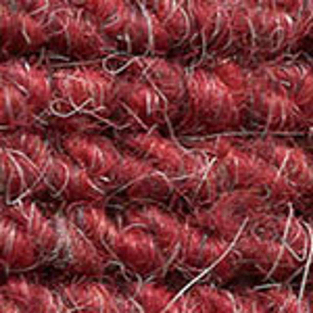 """Imported German Wool Square Weave Carpet 77"""" - 345 Red"""