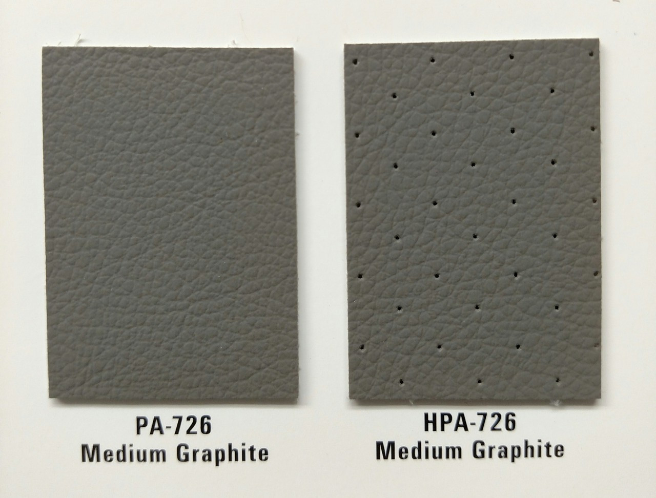 Shown here with PA 726 Medium Graphite