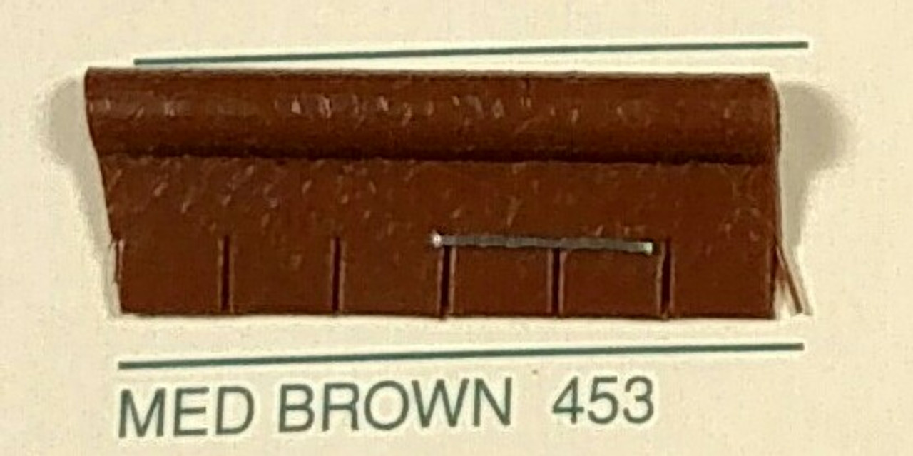 Embossed Snipped Seat Welt Medium Brown