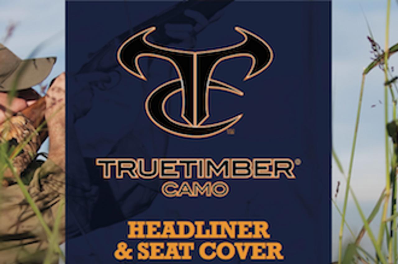True Timber Camo TT07 Mixed Pine SEAT FABRIC!