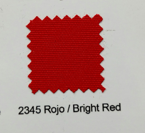 Sundown Marine Canvas Bright Red 60""