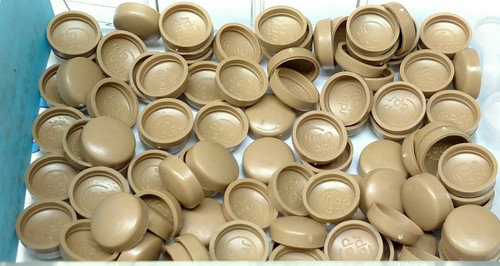 12 Snap-Cap Medium Saddle & Flat Base/Washer 25 Pack