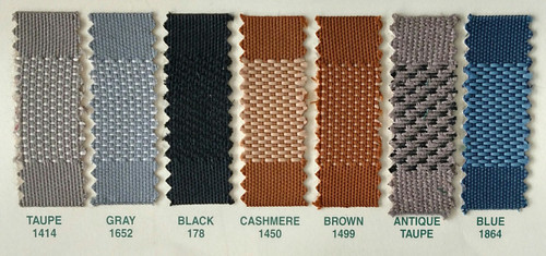 Available Colors / Need more yardage?  Call J&J and we will ship you