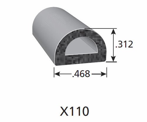 Rubber Seal X110-HT