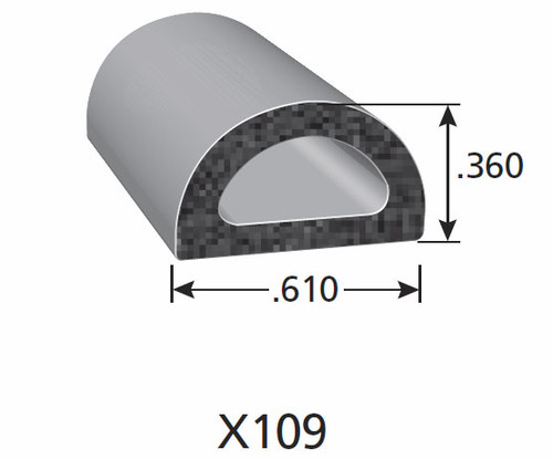 Rubber Seal X109-HT