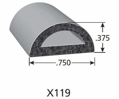 Rubber Seal X119-HT