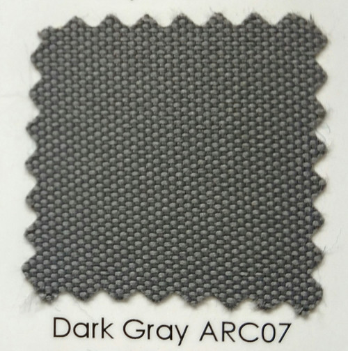 Arcadia Dark Gray Outdoor Fabric 60""