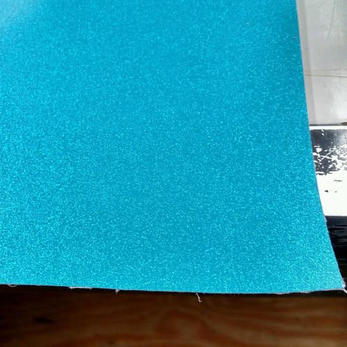 "Novatex Blue METALFLAKE/GLITTER Vinyl 54"""