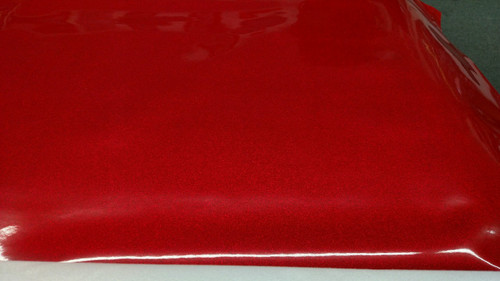 Novatex Red METALFLAKE/GLITTER Vinyl 54""