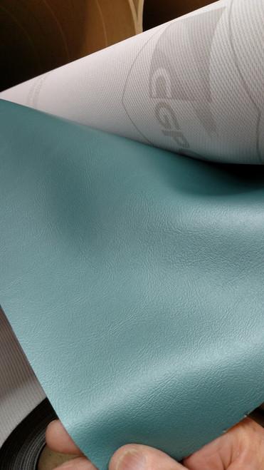 "Sierra SOFT 2929 CLASSIC Metallic Light Turquoise Vinyl 54"" ENDURASOFT"