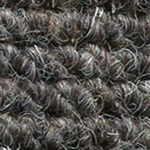 "Imported German Wool Square Weave Carpet 65"" - 316 Dark Grey"