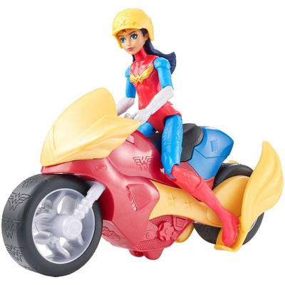 Dc Super Hero Girls Action Figure & Vehicle Dolls Assorted