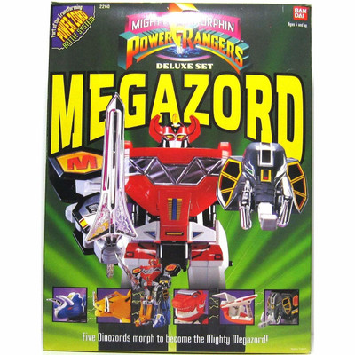 Power Ranger Deluxe Megazord