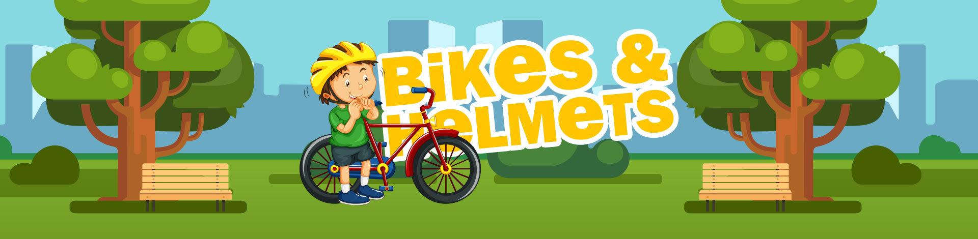 Bikes And Helmets