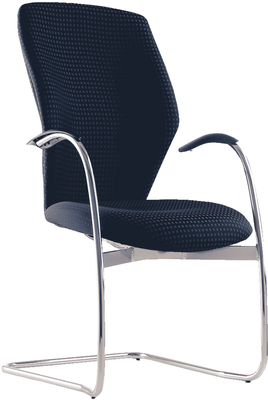 Blast High Back Visitor Arm Chair