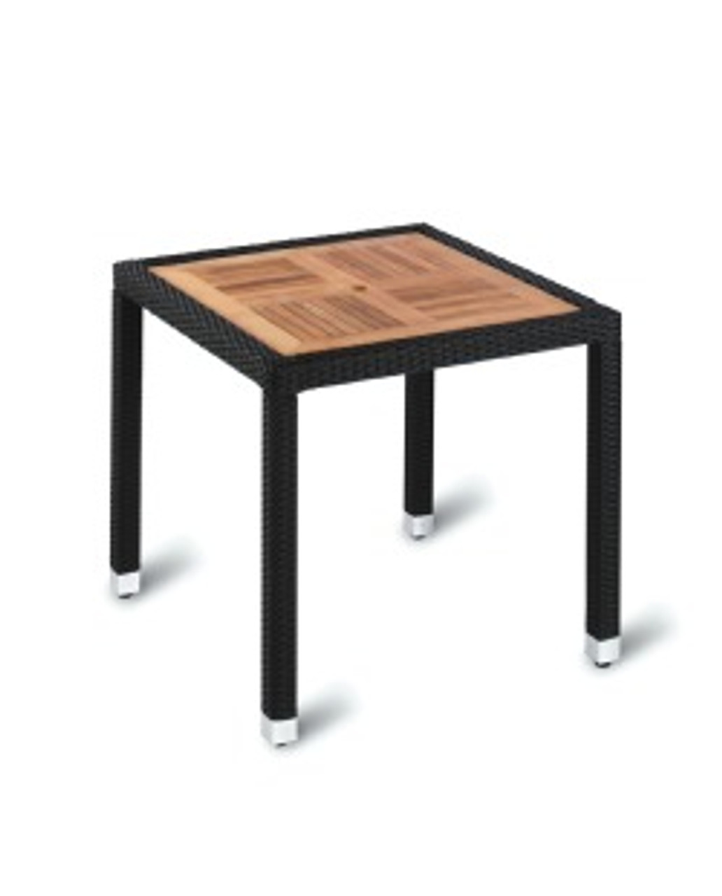 Geneva Square Teak Top Table - Outdoor Furniture