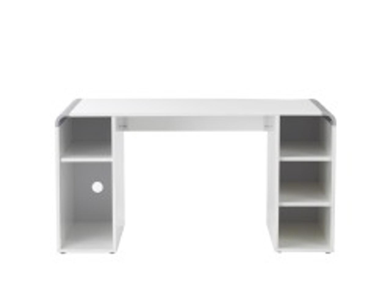 Reflection Designer Home Office Desk - White Gloss