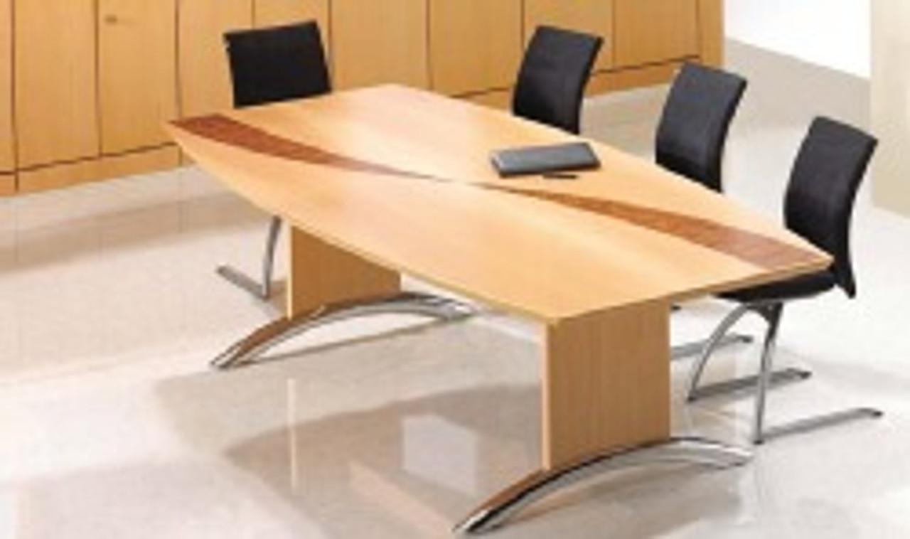 Fulcrum Custom Inlay Meeting Table