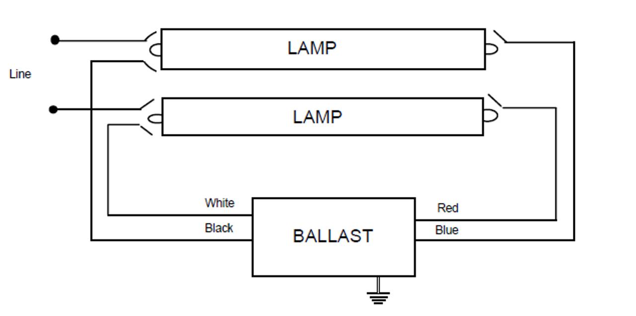 806-SLH-TC-P Magnetek Magnetic Fluorescent Ballast