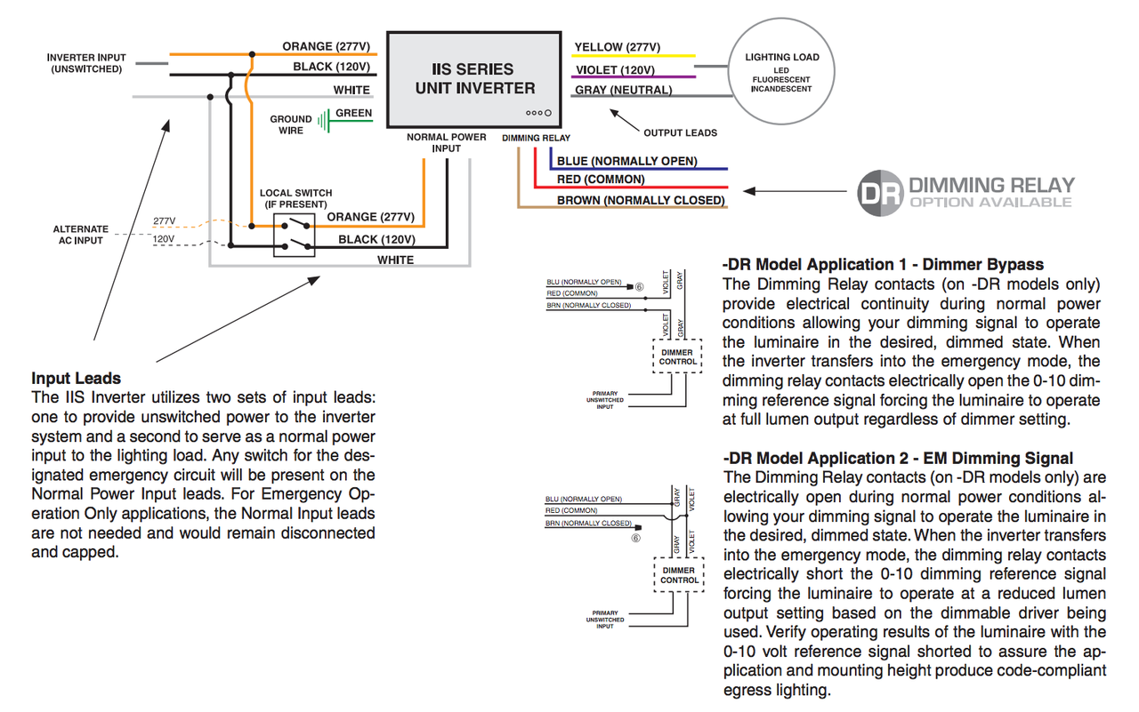 Bodine Emergency Ballast Wiring Diagram B50 Schematic Diagrams Lutron Dimming Lightolier Diy Enthusiasts