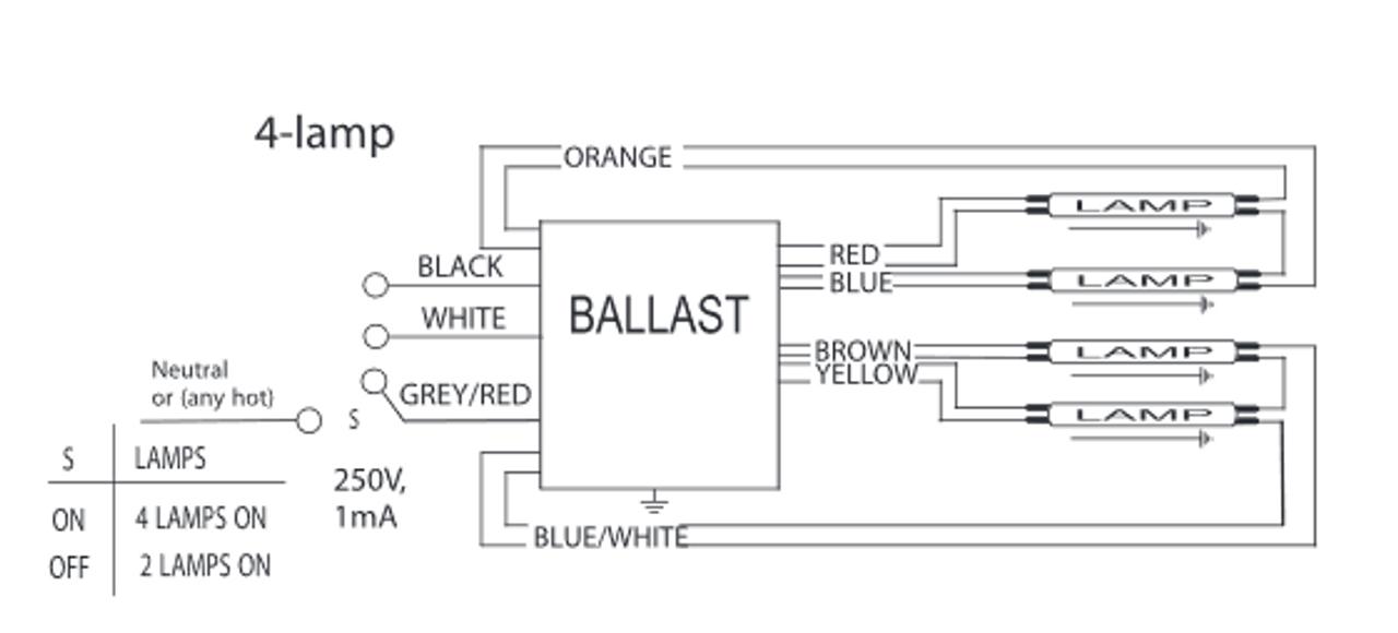 2g11 wiring diagram icn 4s54 90c 2ls advance ballast long narrow case  icn 4s54 90c 2ls advance ballast long narrow case