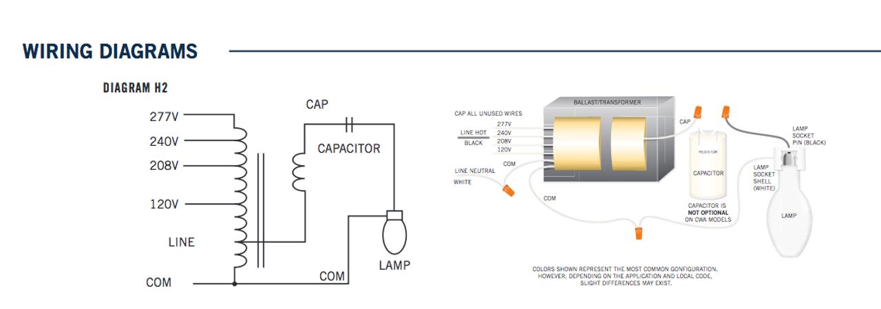 mh ballast wiring diagram introduction to electrical wiring diagrams u2022 rh jillkamil com 4 Lamp Ballast Wiring Diagram Multi-Tap Transformer Wiring Diagram