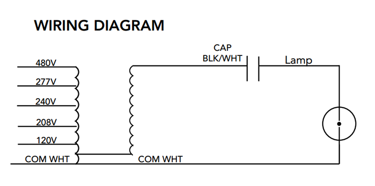 Howard m 1000 5t cwa k metal halide ballast kit m 1000 5t cwa k wire diagram asfbconference2016 Choice Image