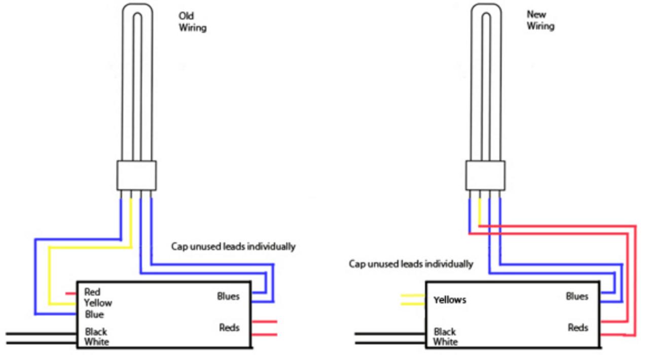 T12 Replacement Ballast Wiring Diagram - Wiring Data