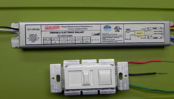 PES120DET8 Electronic Dimming Ballast With Control Unit