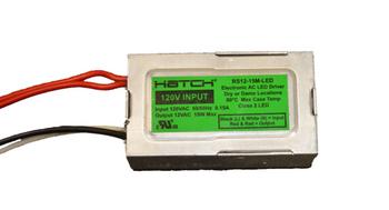 RS12-60BF-LED Hatch LED Driver 60W 12V - Bottom Feed Studs