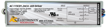 AC Electronics AC-115CD1.2ACA LED Driver
