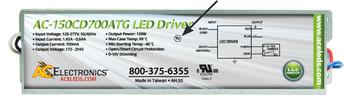 AC Electronics AC-150CD700ATG LED Driver
