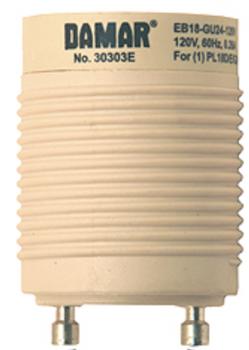 EB18-GU24-120V Damar (30303E) 18W GU24 Socket Ballast Replacement