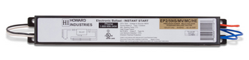 Howard EP2/59IS/MV/MC/HE Electronic Fluorescent Ballast