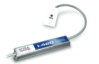 I-420-EM-A IOTA Compact Emergency Lighting Battery Pack Ballast