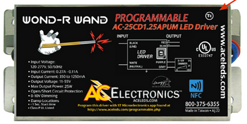 AC Electronics AC-25CD1.25APUM Programmable LED Driver