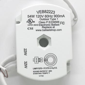 VEB82223 VIVA Circline Ballasts 22W + 32W
