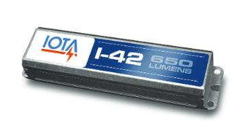 I-42-EM-B IOTA Compact Emergency Lighting Battery Pack Ballast