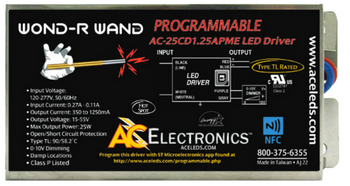 AC Electronics AC-25CD1.25APME Programmable LED Driver