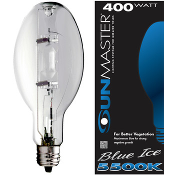 SUNMASTER M.400W.U37.CDX 400 Blue Ice Grow Lamp