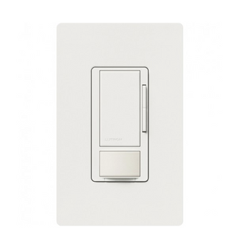 Lutron Maestro MS-Z101-WH Dimmer/Occupancy Sensor White with Wallplate