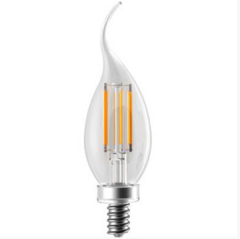 EIKO LED4WBA11E12/FIL/827K-DIM-G6 4W BA11 Filament Decorative LED Bulb