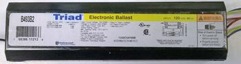 B493B2 (493B2) UNIVERSAL Triad Electronic Tanning Bed Ballast