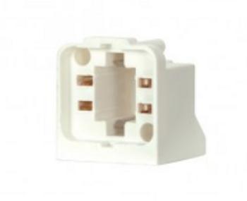 80-2107 Satco 18W 4-Pin Screw Down CFL Lampholder